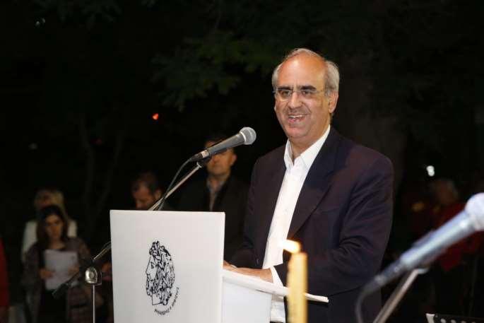 Η έκθεση μας αποτελεί πολιτιστικό γεγονός τόνισε μεταξύ άλλων ο Δήμαρχος Κηφισιάς Γιώργος Θωμάκος