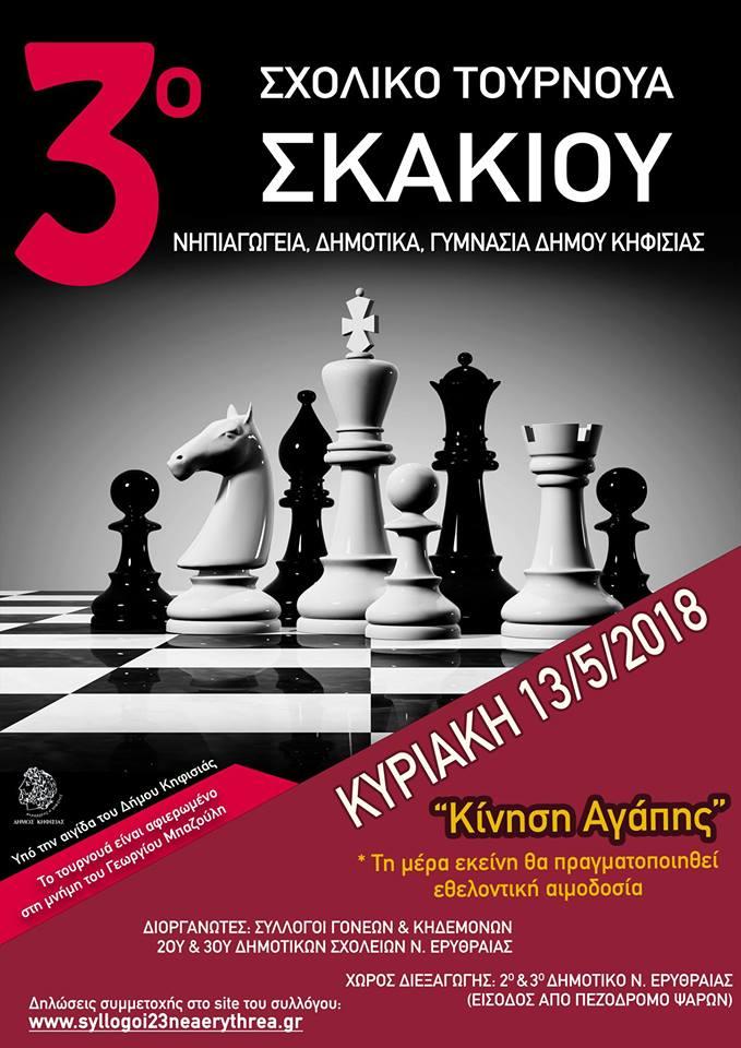 Γυμνάσιο που παίζει σκάκιεφαρμογή που χρησιμοποιείται για να συνδέσετε